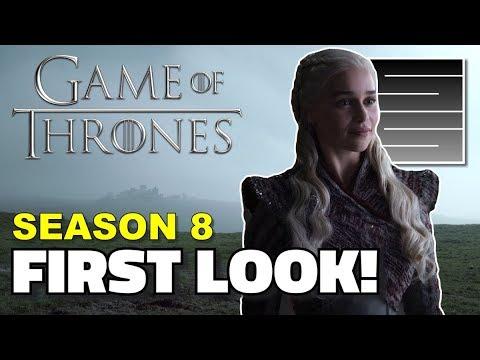 Game Of Thrones Season 8 Episode 1 - First Official Teaser Photos!