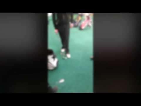 Darren Clarke Golf School Soccer AM Bin Challenge