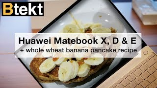 Huawei MacBook (KIDDING) Matebook X, E, D hands-on + Banana Pa...