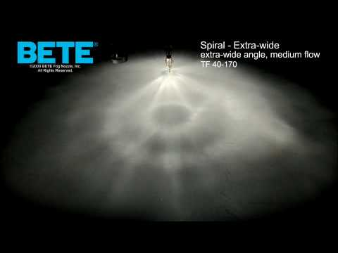 TF40-170 - Extra Wide Angle, Medium Flow Extra Wide Spiral Spray Pattern Video