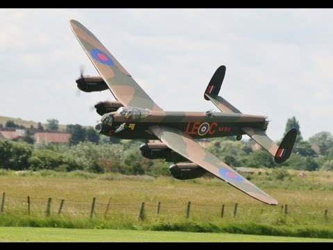 Lancaster - A COMPILATION OF TWO FLIGHTS MIKE (MWM WARBIRDS) HAD WITH HIS LARGE SCALE AVRO LANCASTER, FILMED AT BARTONS POINT MODEL FLYING CLUB ON THE ISLAND OF SHEERNES...