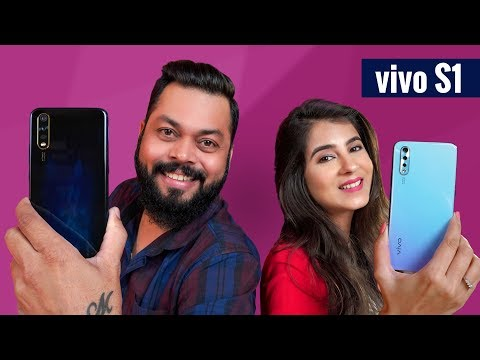 vivo S1 Unboxing & First Impressions ⚡⚡⚡ STYLE MEETS TECH!!