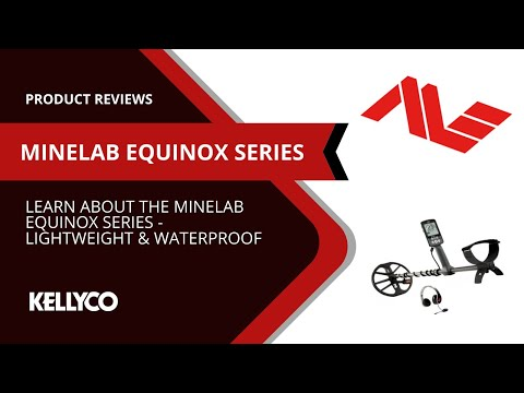 Minelab Equinox Series Metal Detector: Lightweight & Waterproof