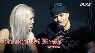 Triumph of Death (Hellhammer Tribute) - Interview - Hellfest 2019