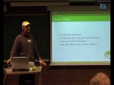 openSUSE on Netbooks at FOSDEM 2009