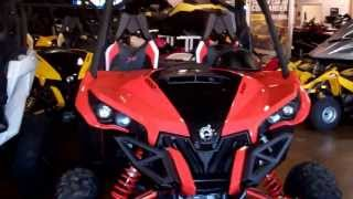 7. 2014 Can Am Maverick XRS  DPS RED
