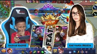 Video FANNY FEAT ANGELA AUTO MVP || NGERJAIN KAK VANIA HAMPIR DAPET MANIAC DONG - MOBILE LEGENDS INDONESIA MP3, 3GP, MP4, WEBM, AVI, FLV Februari 2019