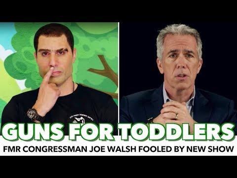 Republican Joe Walsh: I Backed 'Guns For Kindergarteners' Because Israel