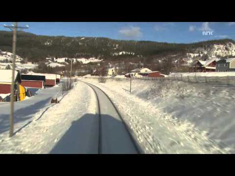 because some people might not know about this phenomenon yet- Slow TV: a 9-hour-long video taken from a train travelling through Norway. The ultimate background noise.