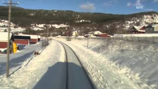 Bodo Norway  City pictures : Cab Ride Norway : Trondheim - Bodø (Winter) Nordland Line