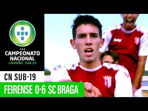 CN SUB-19: Cd Feirense 0 - 6 SC Braga
