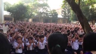 Sinh Hoạt đầu Tuần Của Trường THỰC NGHIỆM GDPT TÂY NINH.