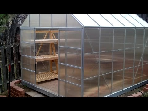 Collapsible Greenhouse Shelving