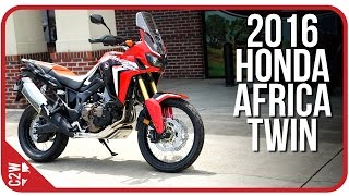 4. 2016 Honda Africa Twin | First Ride