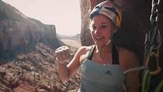 Sasha DiGiulian crack climbing tutorial in Indian Creek by Sasha DiGiulian