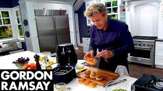 Philips Airfryer Gordon Ramsay Turkey Sliders Recipe by Gordon Ramsay