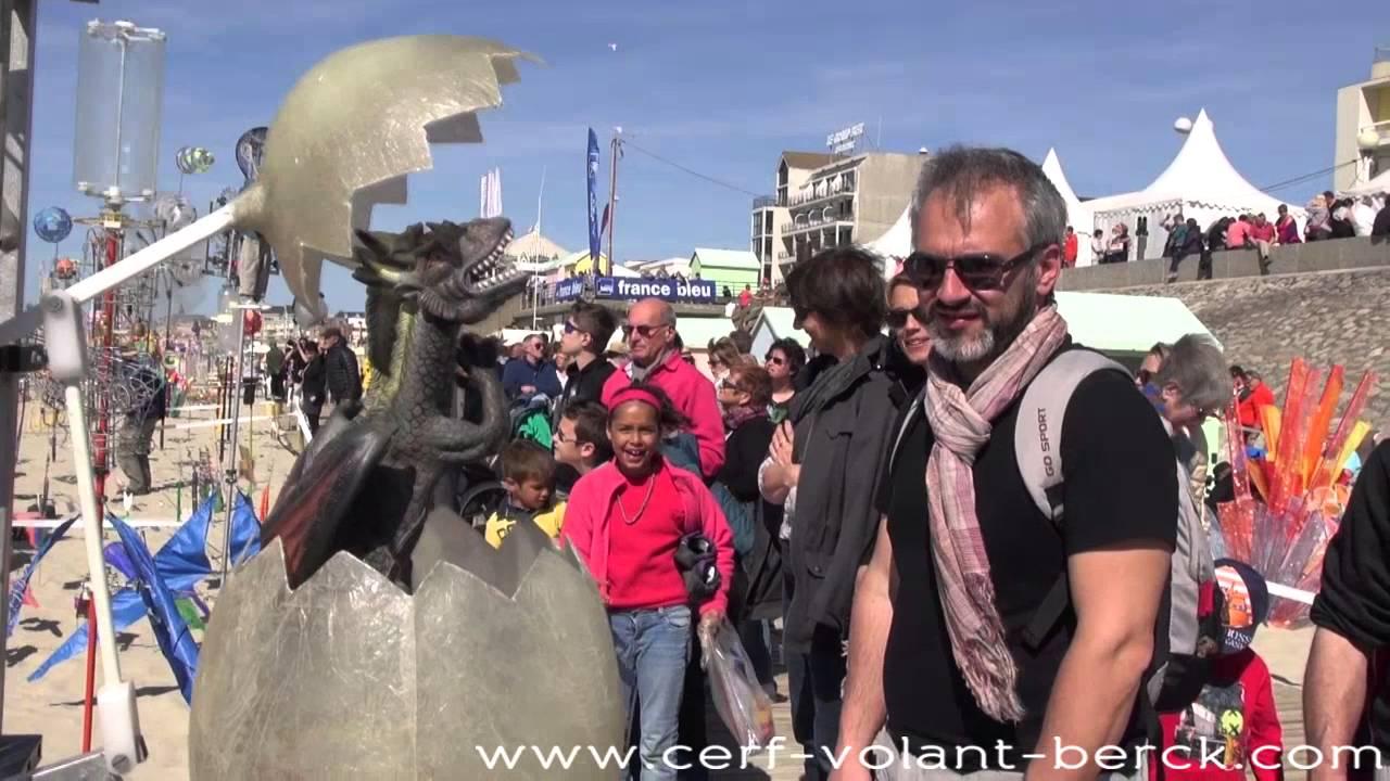 Les rencontres internationales de cerfs volants berck tourisme nord pas de calais - Office de tourisme de berck ...