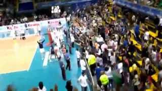 Italy-Iran [1-3] Volleyball 2013 [Iranian Student's Support]