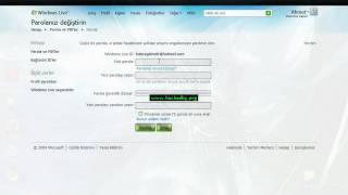 Msn&Mail Şifrelerinizi Değiştirin, güvenliğinizi arttırın. http://www.hackedby.org.