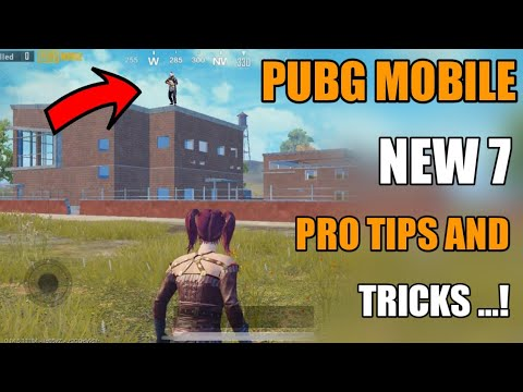 Pubg Mobile Top 7 New Pro Tips And Tricks Hindi ! Pubg Mobile New Tips And Tricks Hindi