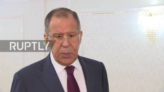 Russian Foreign Minister Sergei Lavrov said that any conditions set by Washington for the return of Russian diplomatic property...