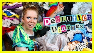 CLOTHES I've HOARDED for 25+ YEARS *shocking* - Declutter Diaries by GRAV3YARDGIRL
