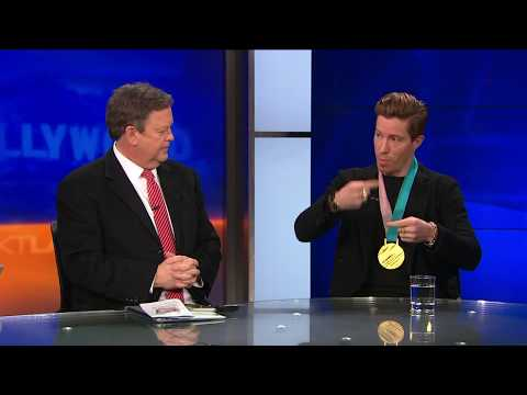 Olympic Gold Medalist Shaun White on  his Epic Winter Olympics Come Back (видео)