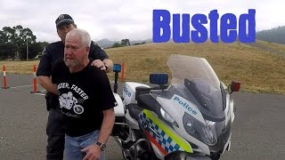 8. Don't try to run from a BMW R1200RT-P Police Motorcycle