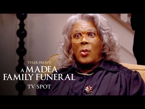 "Tyler Perry's A Madea Family Funeral (2019) Official TV Spot ""Survive"" – Tyler Perry, Cassi Davis"