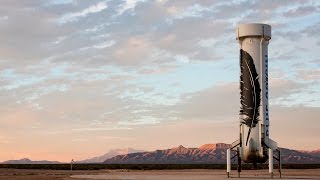 Blue Origin's New Shepard space vehicle successfully flew to space, reaching its planned test altitude of 329,839 feet (100.5 kilometers) before executing a historic landing back at the launch site in West Texas.