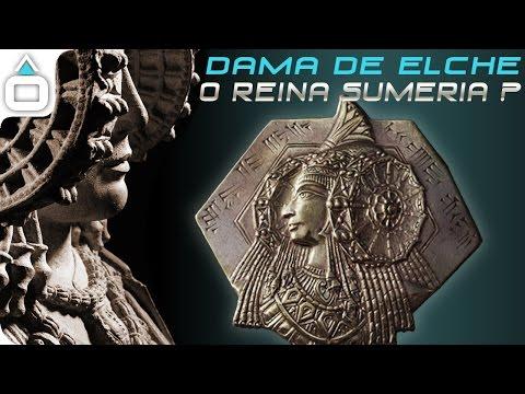 alta tecnologia nell'antichità - dalla dama di elche agli dei sumeri