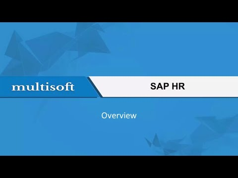 Getting Started with SAP HR Training Video