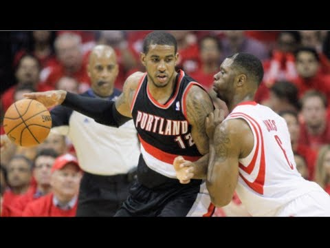 Off - The Houston Rockets vs Portland Trailblazers series may be the best matchup in all of the NBA Playoffs. Lamarcus Aldridge grabbed the headlines leading the B...