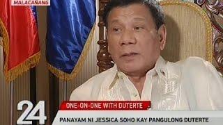 Video Panayam ni Jessica Soho kay Pangulong Duterte MP3, 3GP, MP4, WEBM, AVI, FLV September 2018