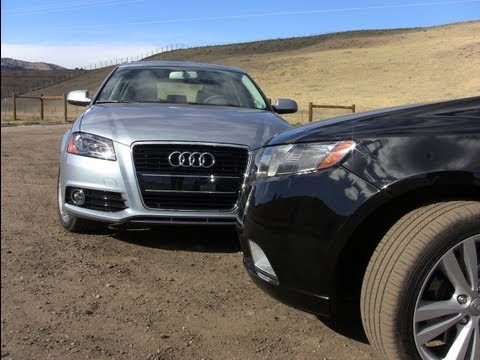 2012 Audi A3 TDI vs KIA Forte SX Mashup Review