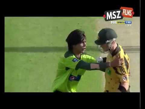 Muhammad Amir Destroyed Australian Batting W W W W W W W T20 Series 2010