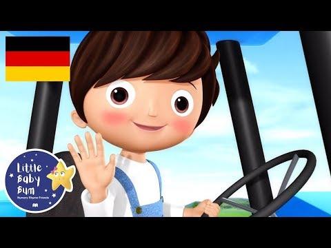 Das Traktor-Lied | Kinderlieder | Little Baby Bum Deutsch | Kinderreime Für Kinder