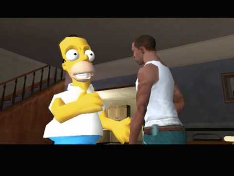 Homer Simpson ★ GTA San Andreas Mod