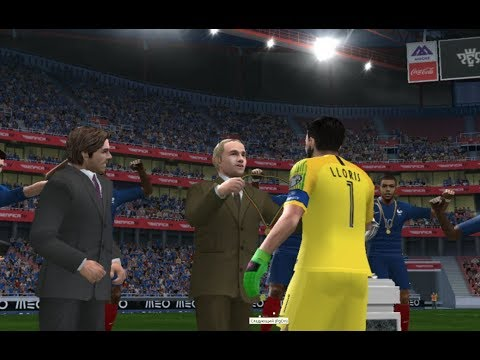 PES 2018 (PS2) France Vs Croatia - World Cup 2018 Russia - FINAL