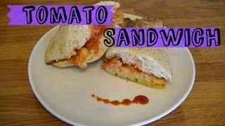 Vegan Toasted Tomato Sandwich Recipe
