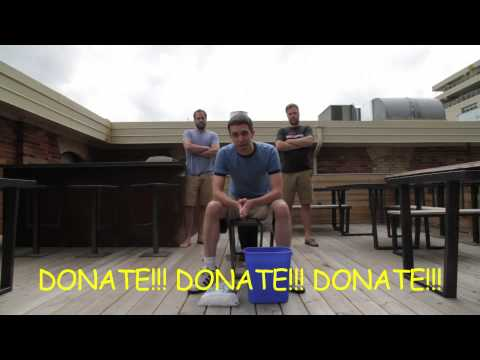 Josh Gold-Smith ALS Ice Bucket Challenge