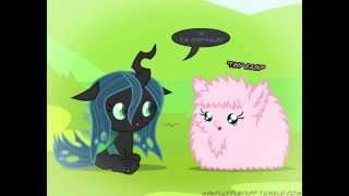 Baby Fluffle Puff and Chrysalis