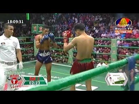 Kunchsa Chanreach vs Ly Kaolong, Khmer Boxing Bayon 20 May 2018