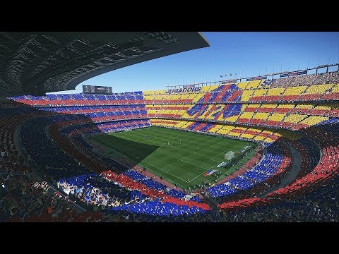 PES 2018 Camp Nou Intro | PC | 1080P 60FPS