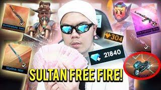 SULTAN FREE FIRE NGABISIN 3 JUTA BUAT BELI SEMUANYA TANPA RAGU!?!? - FREE FIRE INDONESIA #5