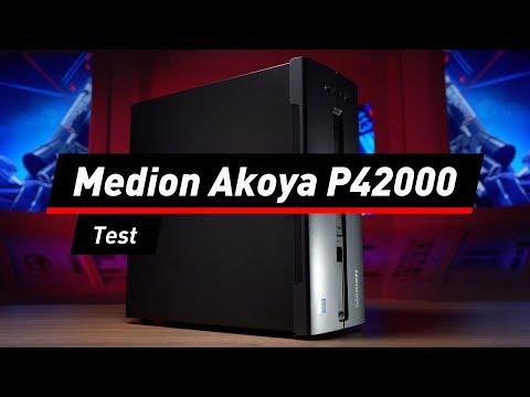 Aldi-PC Medion Akoya P42000 im Test: Gut und günstig