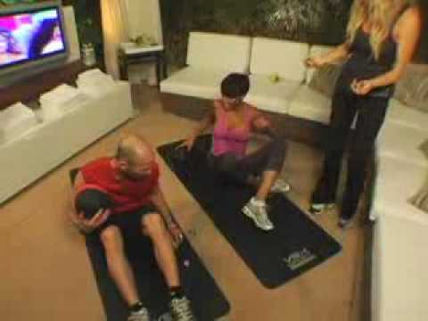 Victoria's Secret Fashion Show - Selita Ebanks workout - Part 2