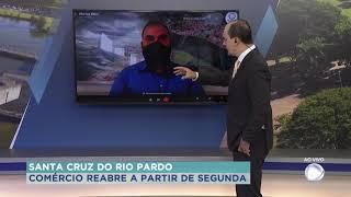 Comércio de Santa Cruz de Rio Pardo reabre dia primeiro de fevereiro
