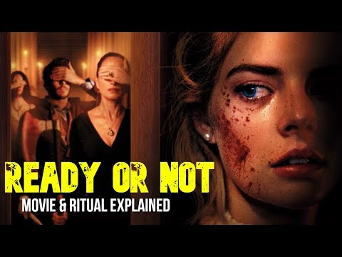 Ready Or Not (2019) Movie & Satanic Ritual Explained In Hindi