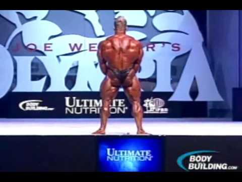 Джей Катлер на Мистер Олимпия 2009 (финал)